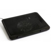 "Laptop Cooling Pad HQ-Tech HQ DX-19, 15.6"", 33x25cm, 140mm LED FAN"