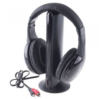 Wireless Stereo Audio Headset MH-2001 (5-in-1) with FM and Monitor functions