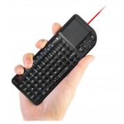 Rii mini keyboard RT-MWK01[2.4G], LED light, laser pointer, touchpad, suitable for Smart TV/HTPC