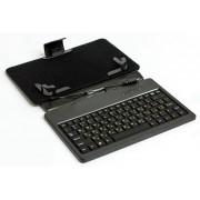 "Обложка-чехол для планшета 7"" с USB клавиатурой HQ-Tech LH-SKB0702U, microUSB, silicone black"