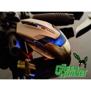 Gaming Mouse A-Jazz Green Hornet (Bronze), Optical 2000DPI