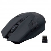 Wireless Mouse A-Jazz Green Hornet Black, Optical 1600DPI