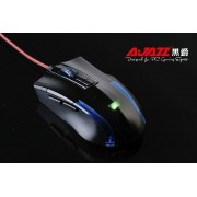 Gaming Mouse A-Jazz Wolf Team, Optical 2400DPI