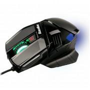 Gaming Mouse Bazalias X1, Optical 2000DPI, 3X, USB 1.8m Gold Plated