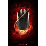 Gaming Mouse X-Luca Team Scorpion, Optical 2400DPI, USB, LED, Black