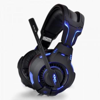 Headphones E-Blue Mazer HS909BK, LED