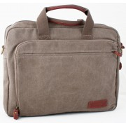 Laptop Bag Troop London TRP0193 Brown (canvas, leather)