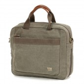 Laptop Bag Troop London TRP0191 Khaki (canvas, ..