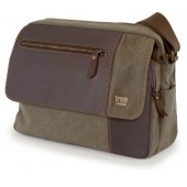 Laptop Bag Troop London TRP0278 Brown (canvas, ..
