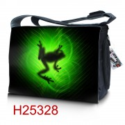 "Messenger bag with picture for laptop 15.6"" HQ-Tech, thousand photos"