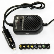 Car Universal adapter HQ-D80M, 80W, manual voltage set