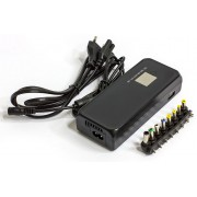 Universal adapter HQ-A120MU LCD, 120W,  manual voltage set